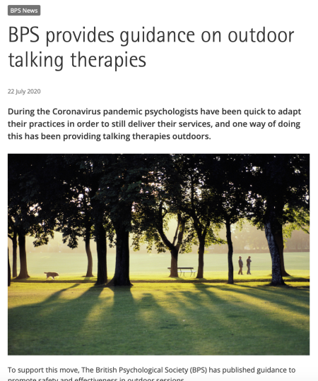 Sam-Cooley-clinical-psychology-outdoor-therapy-talking-nature-walk-and-talk-guidelines-BPS-british-psychological-society-research